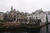 Hurtigruten_day2_513_06302019 - Approaching the Alesund sentrum on the waterfront