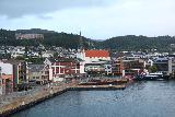 Hurtigruten_day2_552_06302019 - The Hurtigruten Cruise about to pull into Molde
