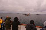 Hurtigruten_day3_196_07012019 - Context of onlookers checking out the lone lighthouse as the Hurtigruten was passing by