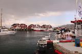 Hurtigruten_day4_173_07022019 - Another look at the Guest Harbor in Bodo just as a rain squall was about to come over it