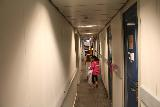 Hurtigruten_day4_214_07022019 - Tahia following Solveig to her room so she could take a shower