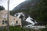 Husedalen_001_06232019 - Back at the Kinso Kraftverk power station which fronted Tveitafossen in the Husedalen Valley