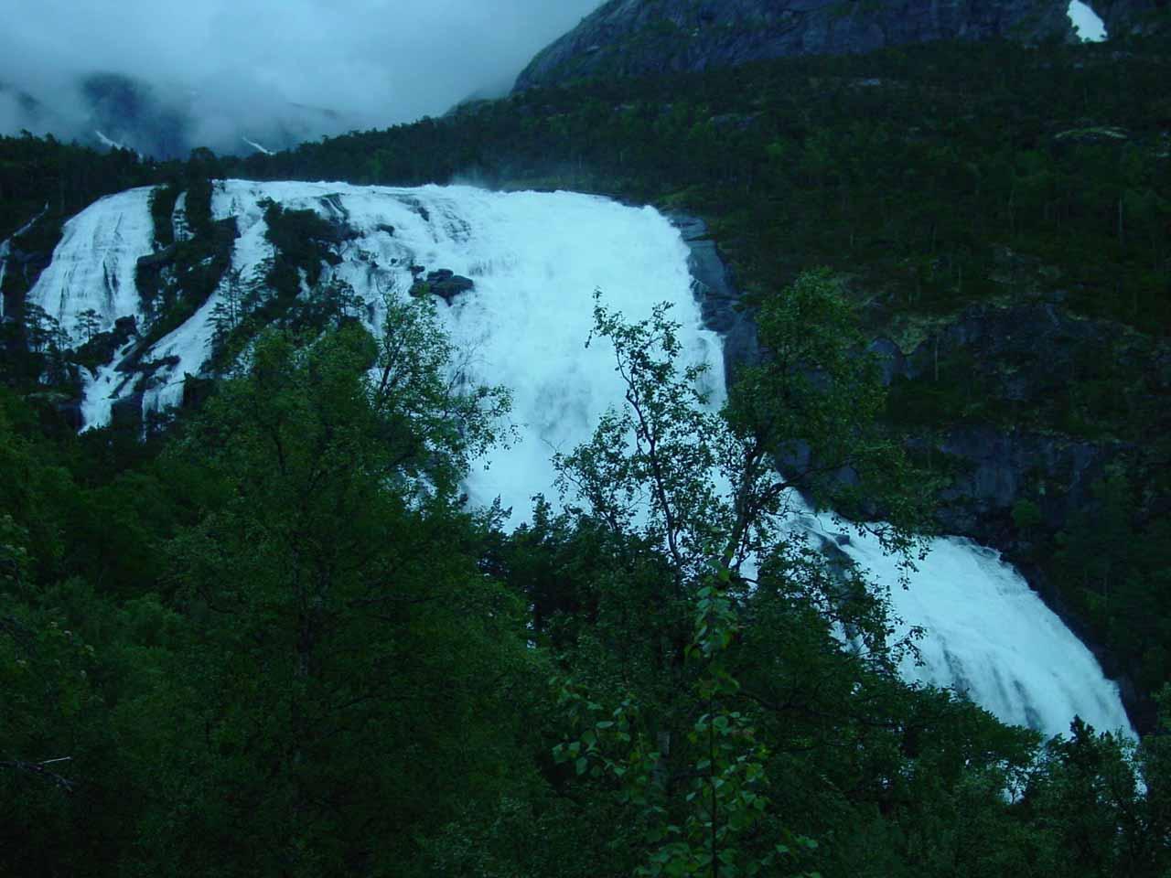 A Hordaland Waterfall