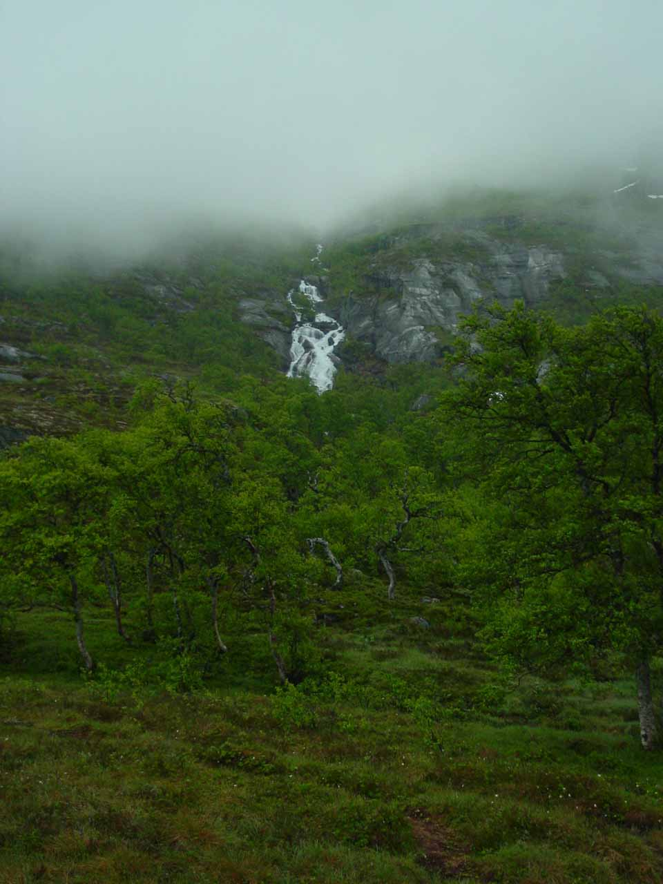Some other side waterfall near Søtefossen