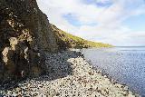 Hvitserkur_022_08152021 - Looking along the quieter side of the rocky beach facing Hvitserkur