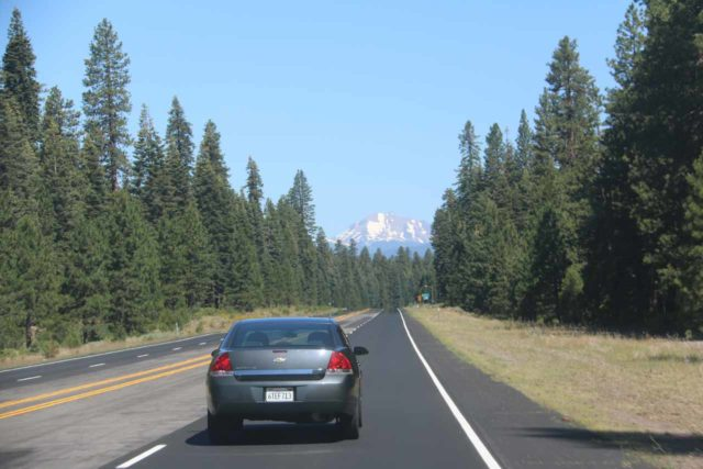 Hwy_89_Lassen_001_07122016 - Driving north on Hwy 89 towards Lassen Volcanic National Park
