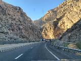 I-15_009_iPhone_10192020 - Approaching the last turn in the canyon carved by the Virgin River during the Arizona interlude along the I-15 on the way south to Las Vegas