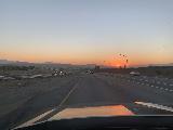 I-15_Sunrise_001_iPhone_10152020 - Sunrise while driving on the I-15 towards Las Vegas as we were leaving the LA Basin