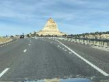 I-70_026_iPhone_10152020 - Passing by the aptly-named Ghost Rock while driving the I-70 through the scenic San Rafael Swell in Utah