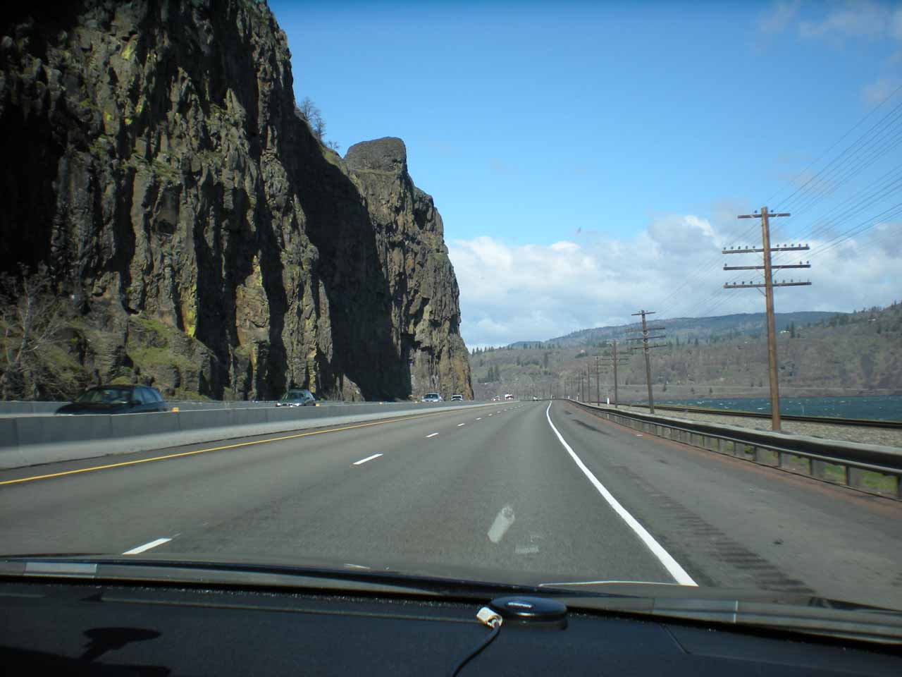 Back on the Gorge portion of the I-84