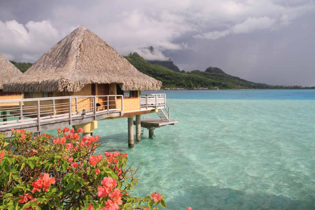 The famous Tahitian Overwater Bungalow