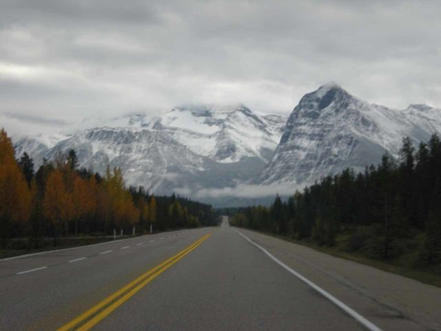 Icefields_Parkway_011_jx_09212010 - Driving the Icefields Parkway the day after we had experienced a couple days of snow during an early season Winter Storm on our September 2010 visit