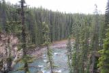 Icefields_Parkway_235_09212010 - Looking downstream past the lowermost tier of the Lower Sunwapta Falls