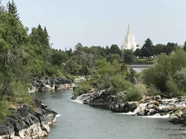 Idaho_Falls_023_iPhone_08152017 - Idaho Falls and the Idaho Falls Temple in the distance