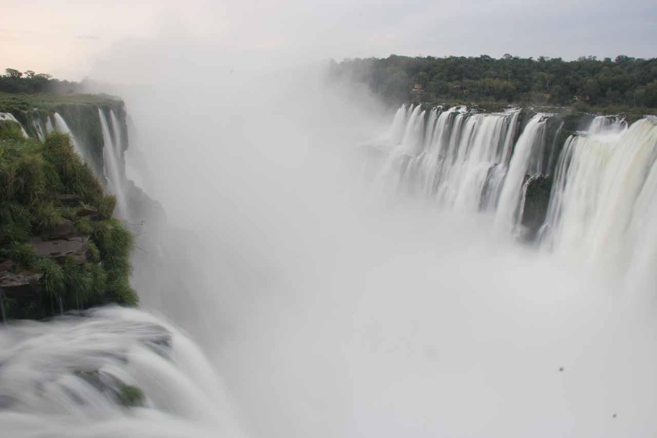 Iguazu Falls at the Devil's Throat