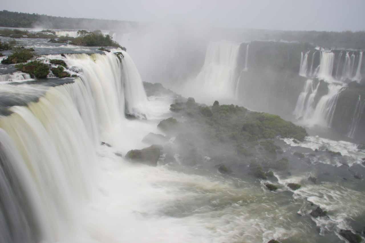 More waterfalls near the Devil's Throat
