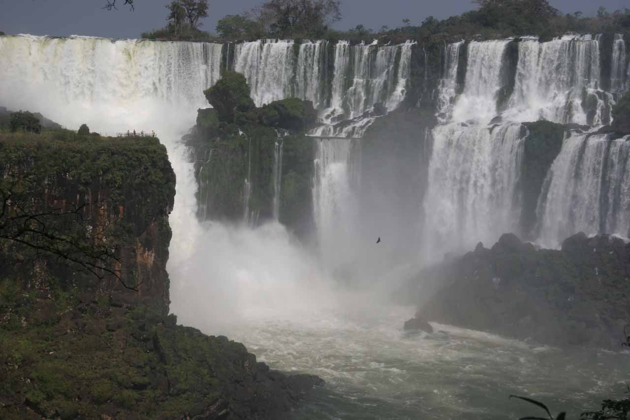 Iguazu Falls as you might have seen it from Indiana Jones and the Kingdom of the Crystal Skull