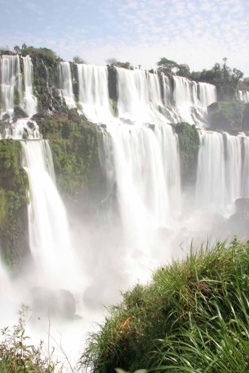 Iguazu Falls from Isla San Martin