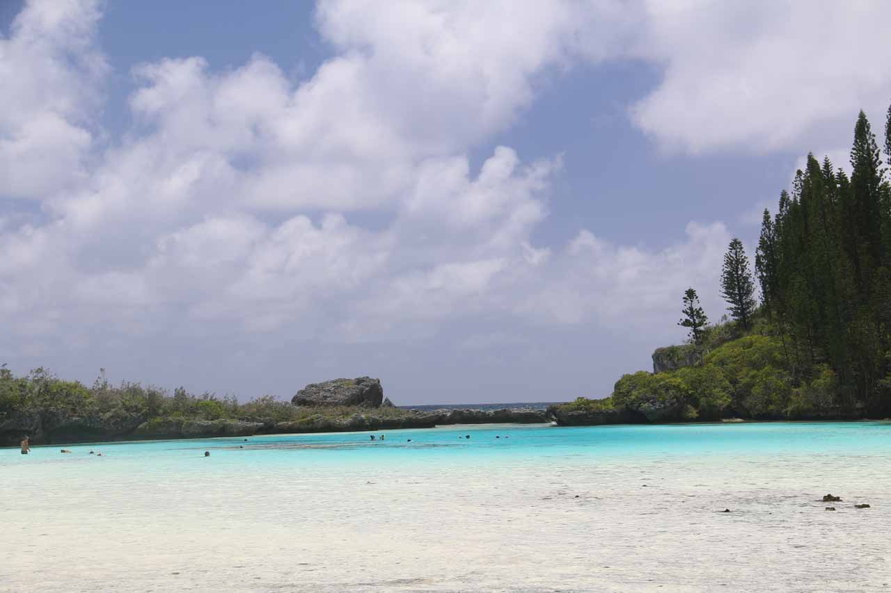 While it's possible to visit the beautiful Ile des Pins as a day trip from Noumea, it was certainly worth spending a couple of nights to experience places like the Piscine Naturelle
