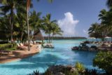 Ile_des_Pins_733_11282015 - The familiar look across the Le Meridien swimming pool towards Baie d'Oro