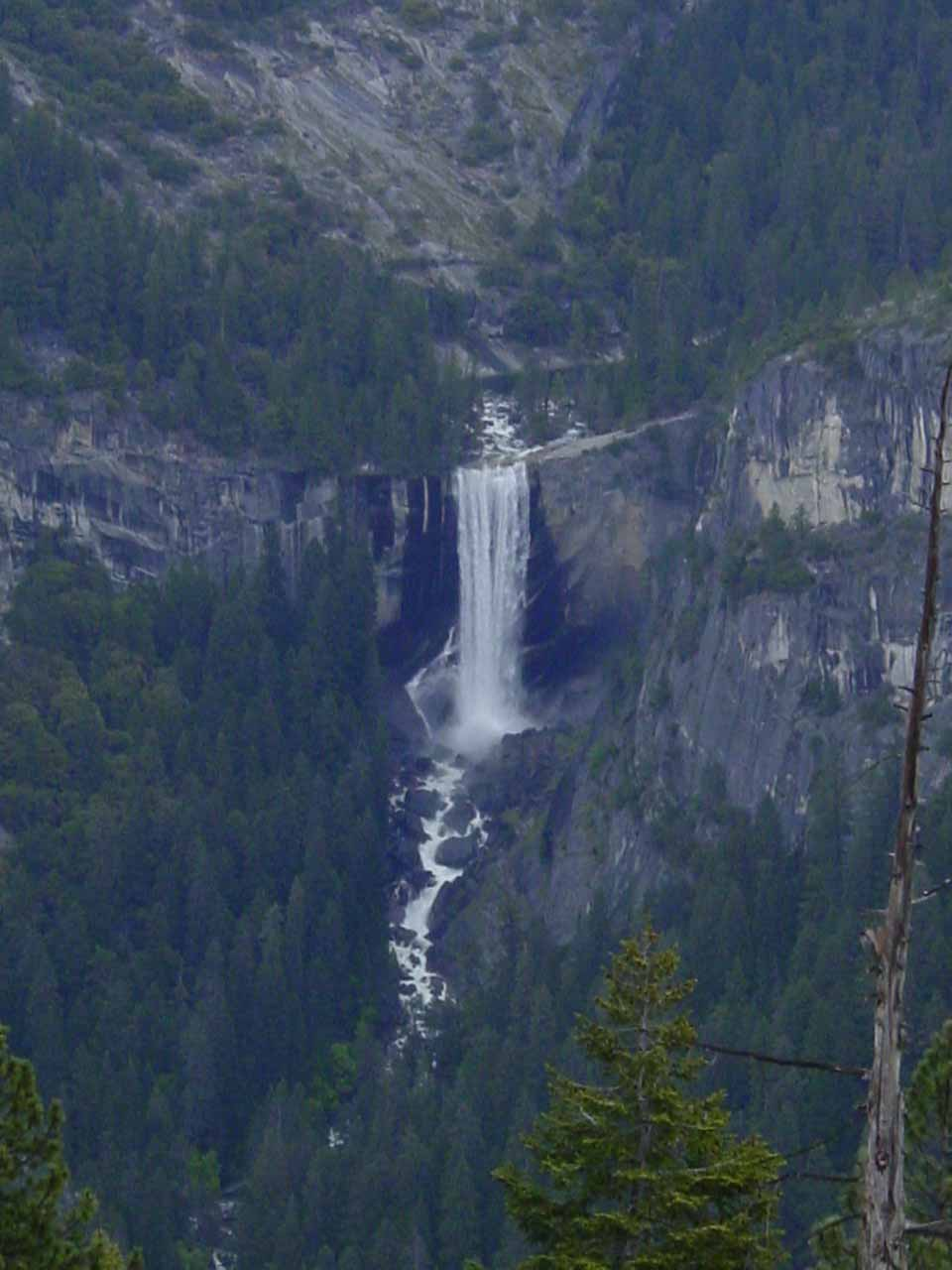 Vernal Fall viewed from the Panorama Trail