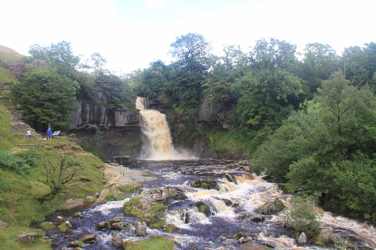 Contextual view of the Thornton Force in full spate