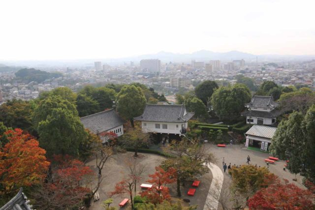 Inuyama_Castle_045_10212016 - This was the view towards the city of Inuyama from the top of the Inuyama Castle