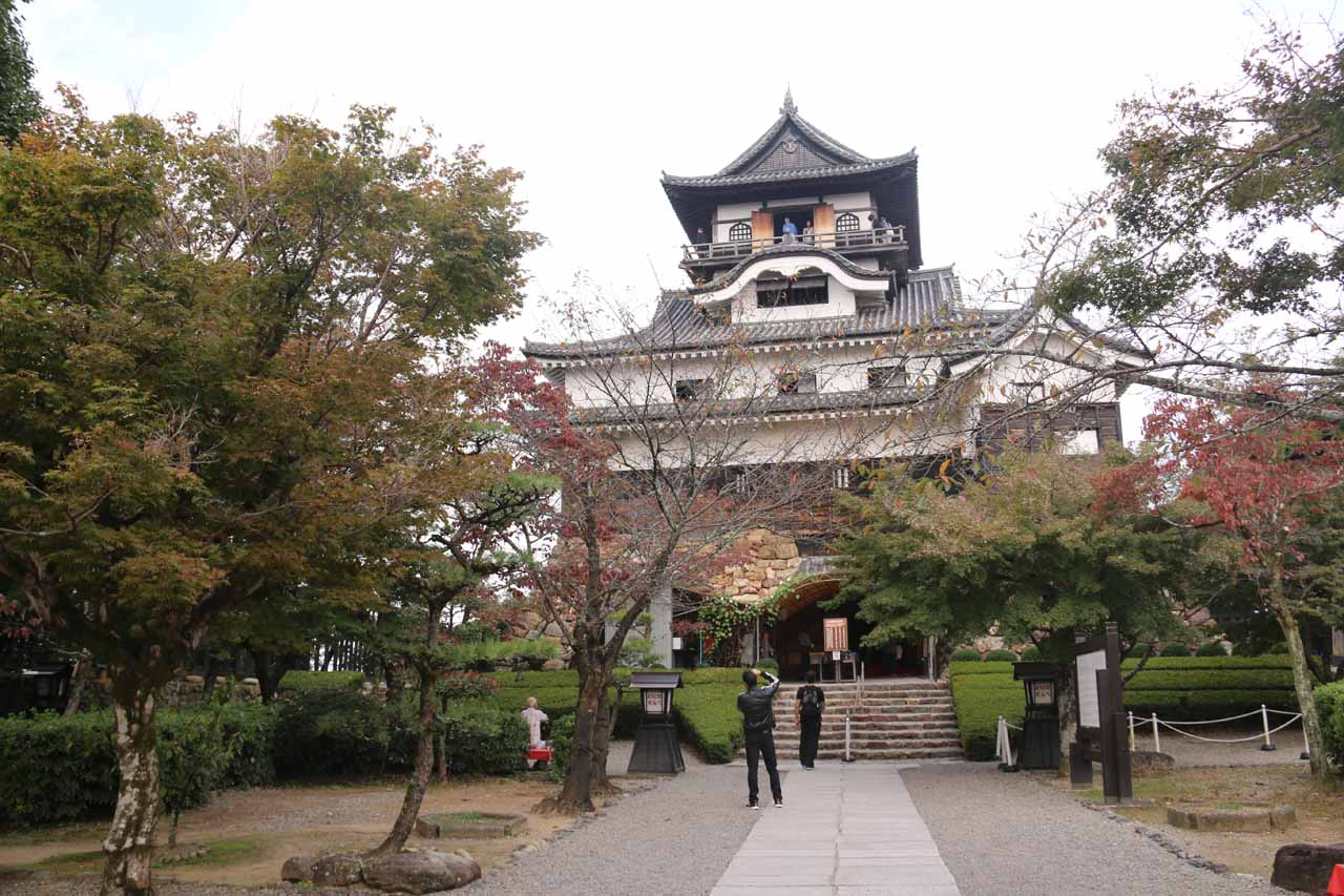 Prior to visiting the Waterfall of Yoro, we visited the Inuyama Castle, which was said to be the oldest castle left standing in Japan