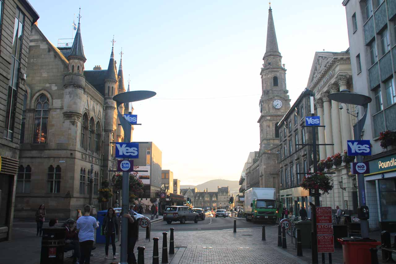 The charming town of Inverness was where we based ourselves at when exploring the Northwest Highlands, which was a 1 hour and 40 minute drive to the Falls of Glomach Trailhead