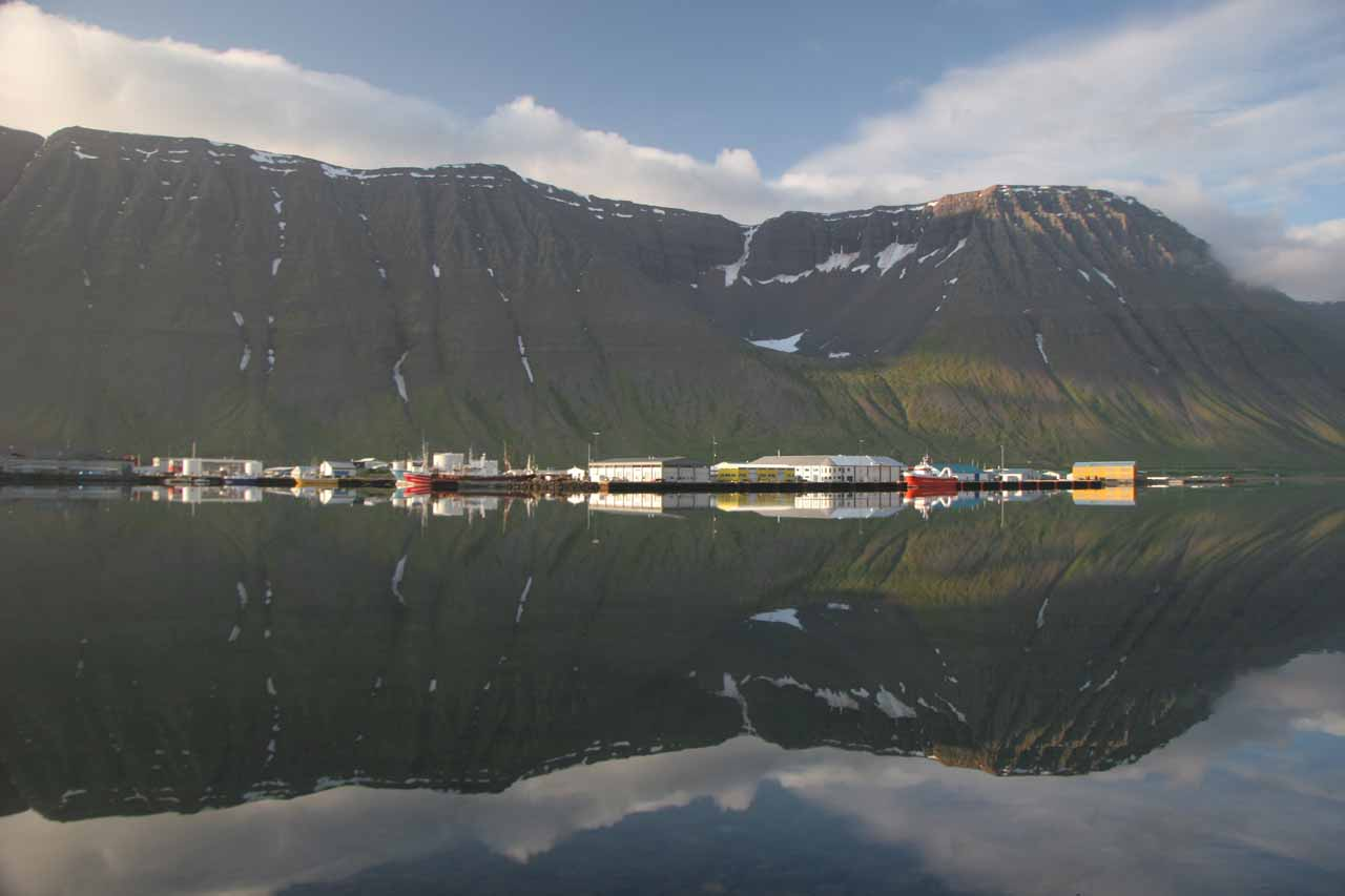 The only town of any size in the Westfjords is Ísafjörður, which was a very beautiful place to base ourselves momentarily as we were touring the Westfjords
