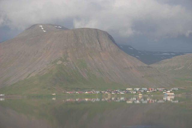 Isafjordur_007_06242007 - At the start of the day when we showed up to Djupavik, we had started from the beautiful town of Isafjordur. It was at least 4-5 hours drive to get from there all the way to Djupavik