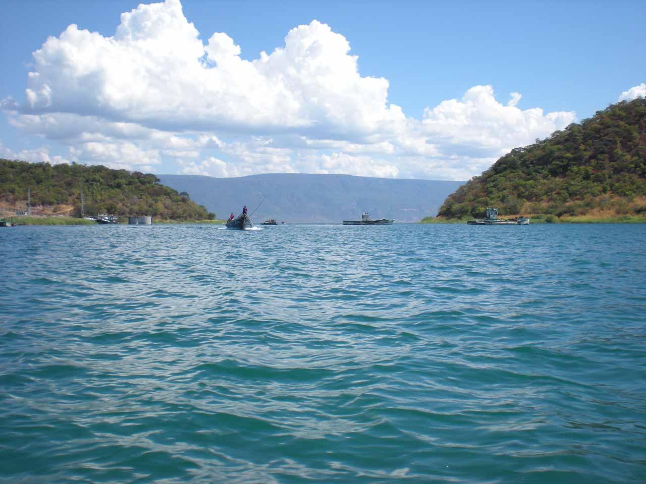 On the choppy Lake Tanganyika