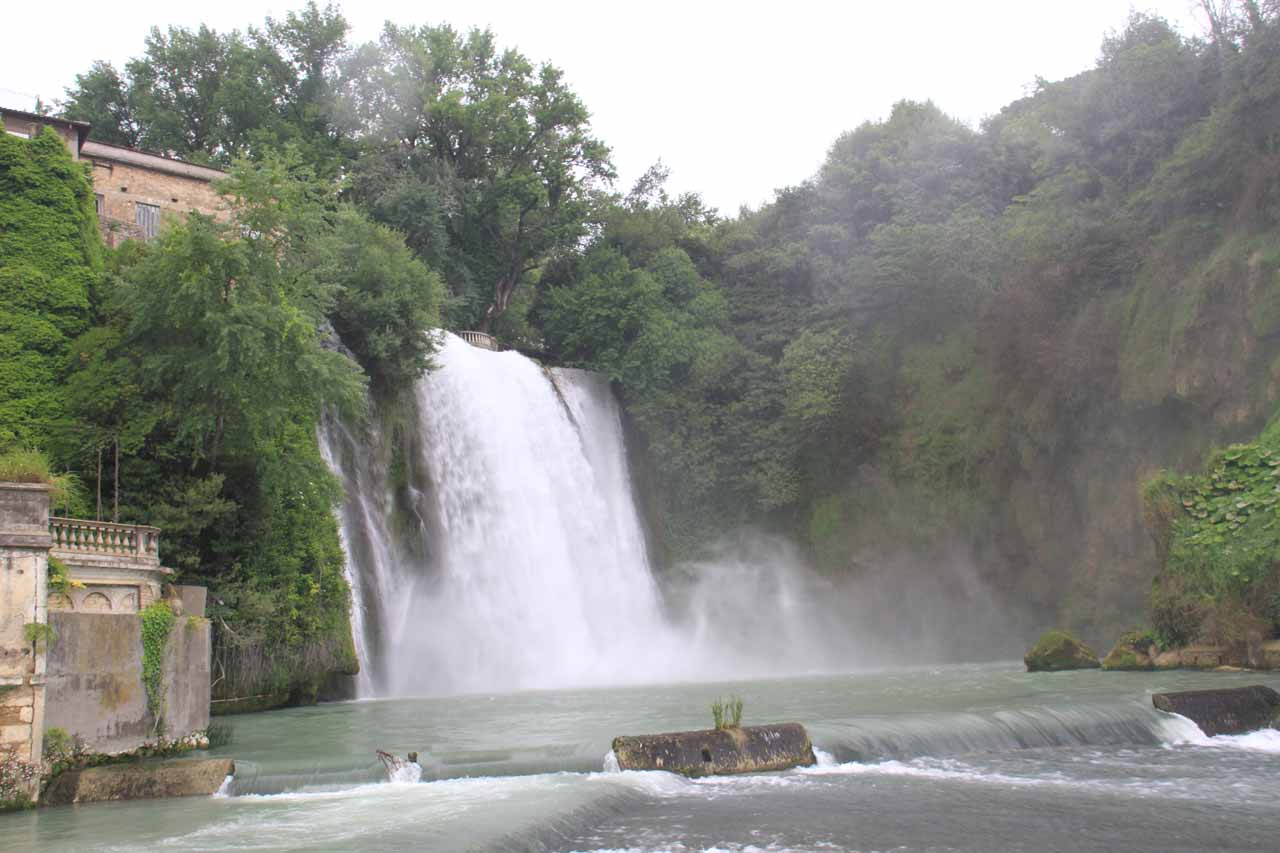 The big waterfall (Cascata Grande) of Isola del Liri