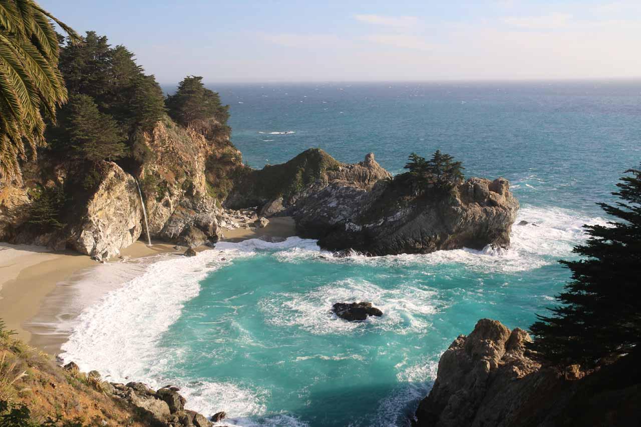 8. MCWAY FALLS [Big Sur, Monterey County]