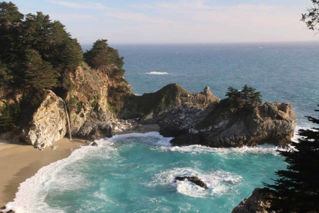 JP_Burns_SP_111_04022015 - McWay Falls was another one of the tidefalls that we've encountered along the California Coast besides Alamere Falls