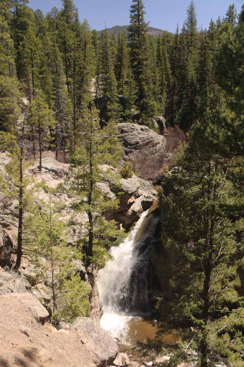 Here's a cleaner look at the impressive Jemez Falls