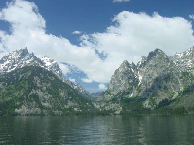 Jenny_Lake_020_06262004 - Jenny Lake and Cascade Canyon in the Grand Tetons National Park