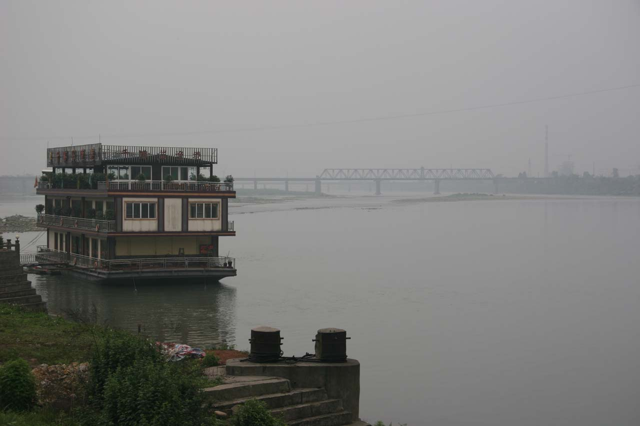 View of the Jiajiang River