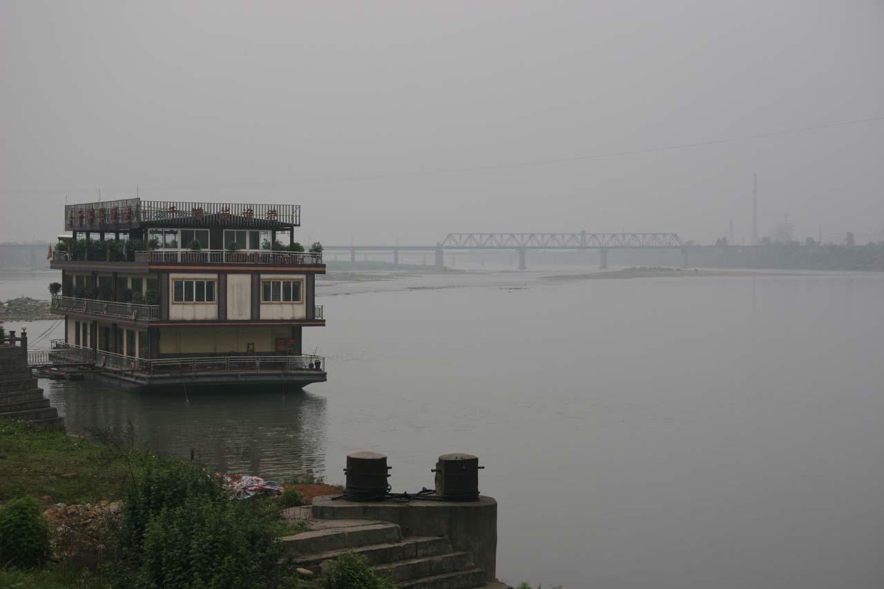 View of the Jiajiang River