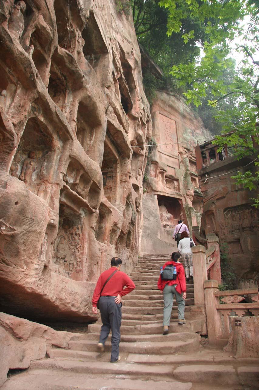 Leaving the Thousand Buddha Cliffs