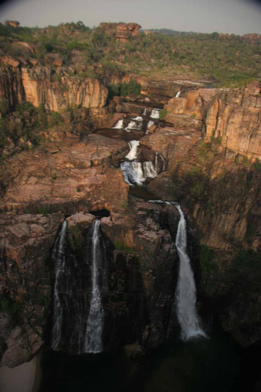 Frontal look at Twin Falls
