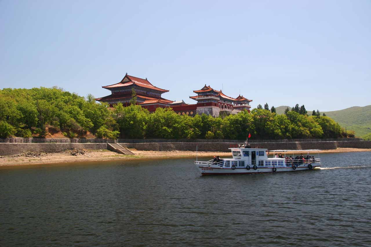 Cruising on the Jingpo Hu