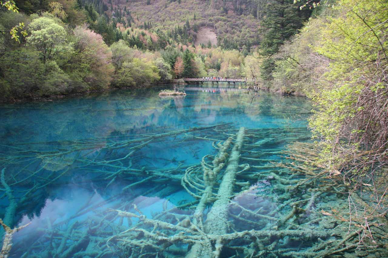 Jiuzhaigou in Sichuan, China