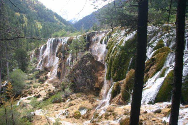 Jiuzhaigou_138_04302009 - The Pearl Shoal Waterfall
