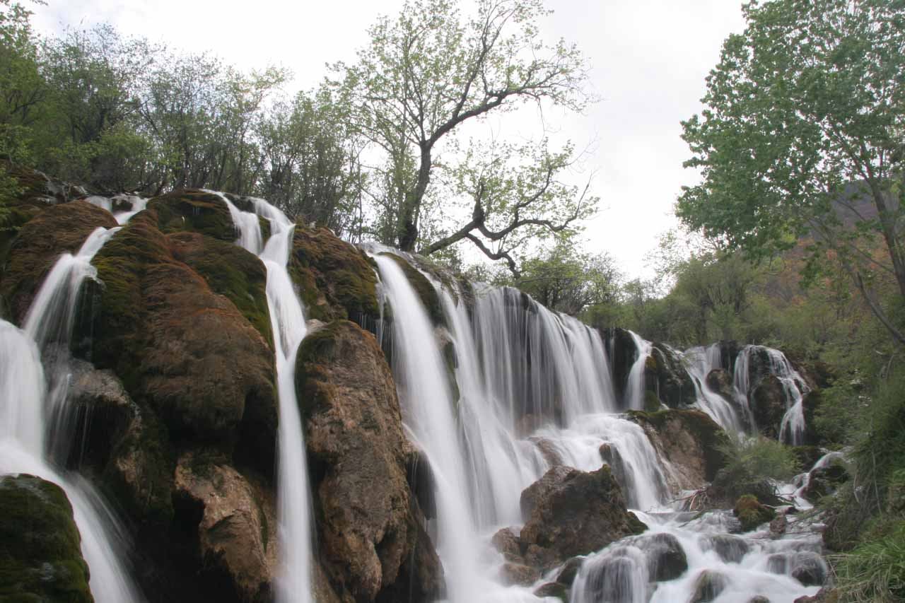 Another look at the Shuzheng Waterfall