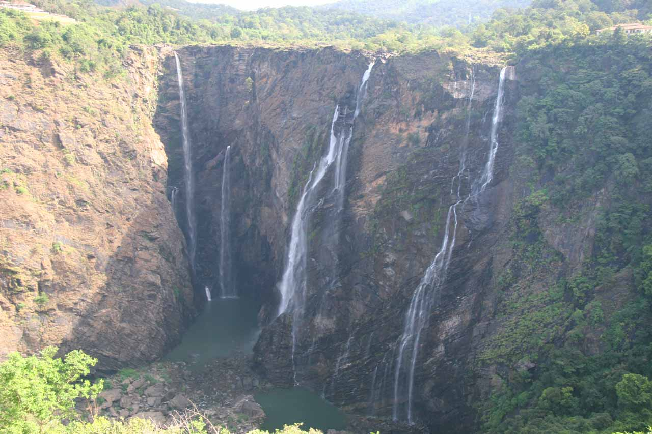 Closer look at Jog Falls