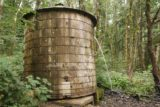 John_B_Yeon_SP_008_08172017 - A water tank at the first switchback almost immediately from the trailhead at John B Yeon State Park