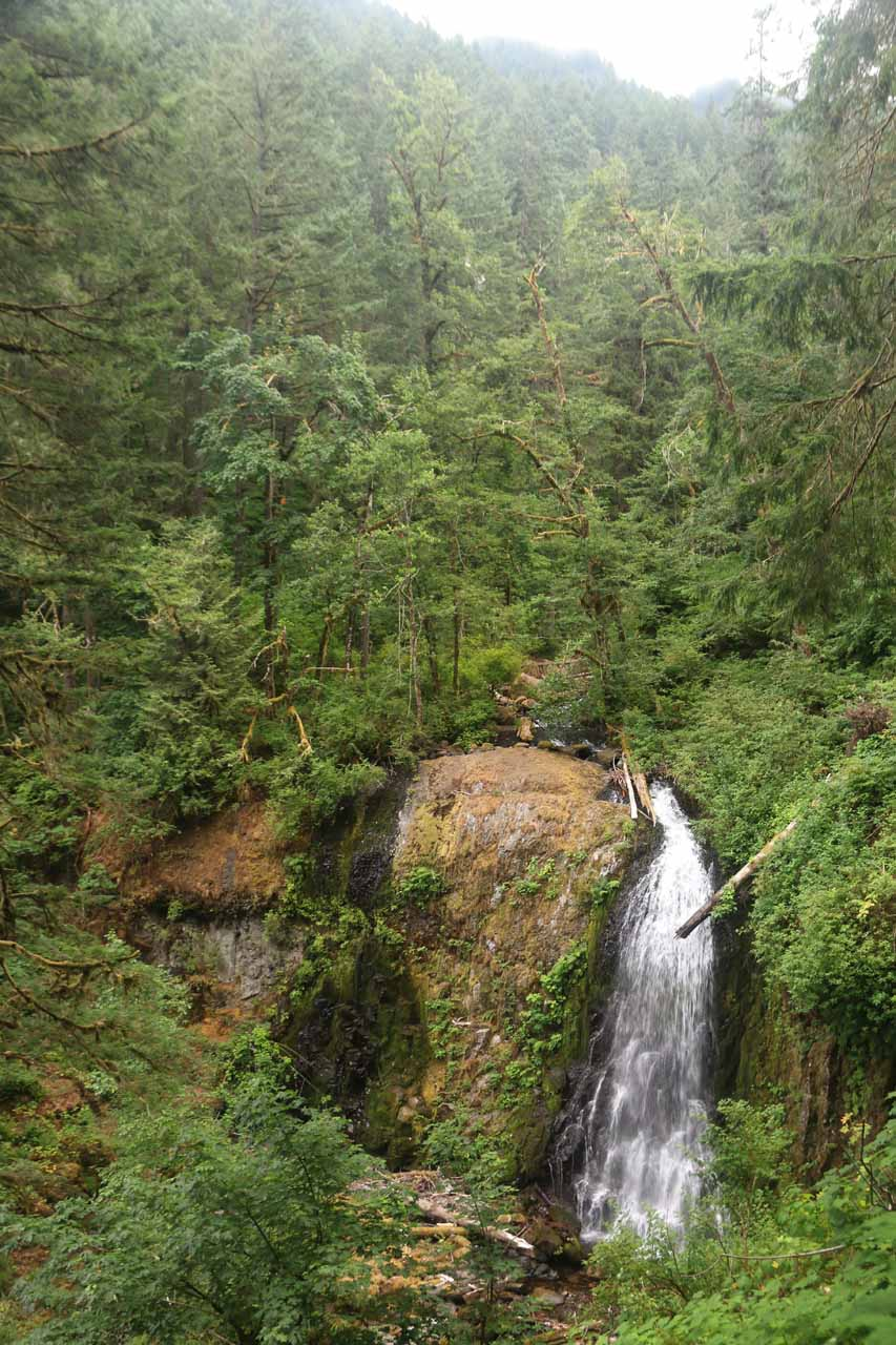 Finally getting to see the Upper McCord Creek Falls