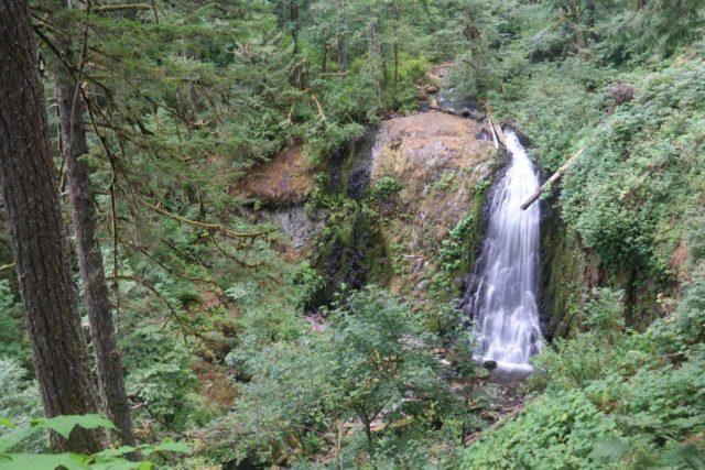 John_B_Yeon_SP_108_08172017 - Upper McCord Creek Falls in low late Summer flow