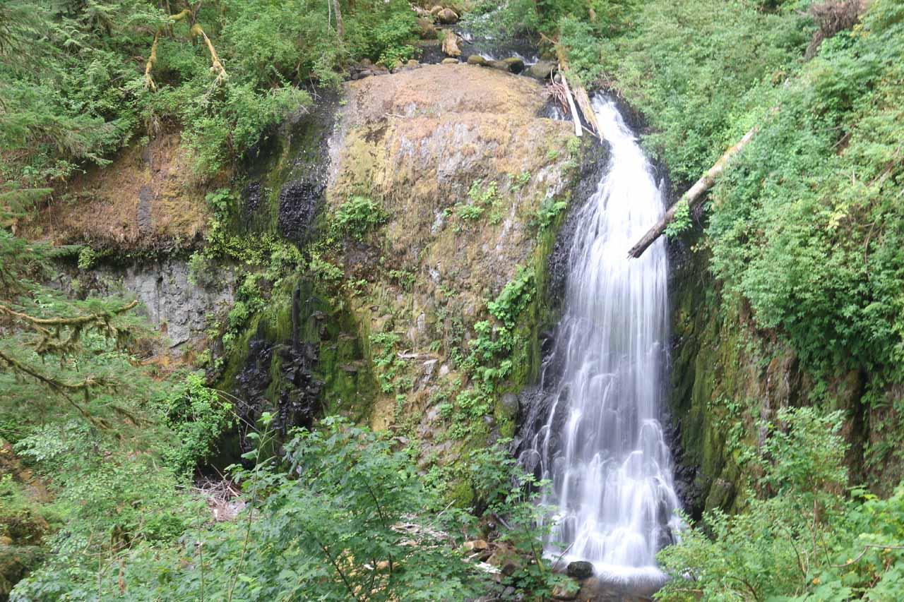 Focused look at the Upper McCord Creek Falls